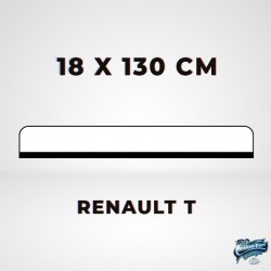 ENSEIGNE LUMINEUSE RENAULT T LED 18 X 130 cm