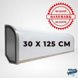 Enseigne Caisson Lumineuse 30x125 cm pour Camion
