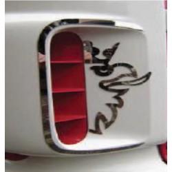 Habillages inox Aérations frontales + Griffon Scania R1(la paire)