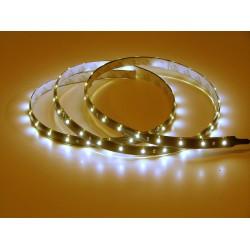 Bande flexible adhésive 54 leds 90Cms 24Volts éclairage blanc.