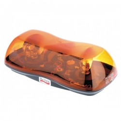 Mini rampe 2 gyrophares Aerolite halogène orange,