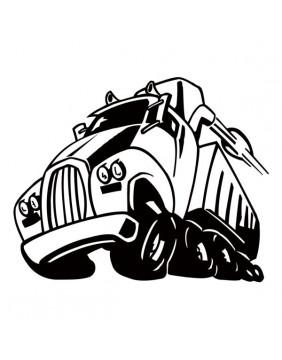 Stickers et autocollants pour Camion Personnalisé