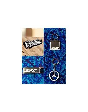 Porte-clés décorés de marques de Camions et à motifs pour conducteurs