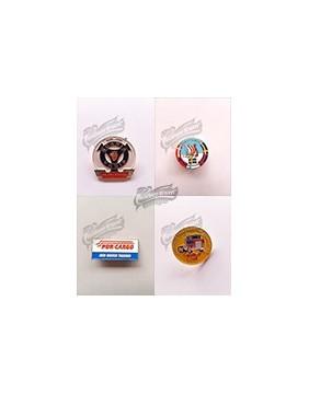 Pin's décorés de marques de Camions et à motifs pour les passionnés