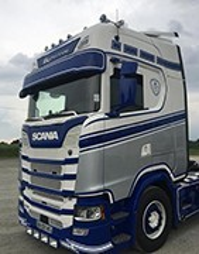 Visières de Camion Scania S NTG, pour customisation de Poids-lourds