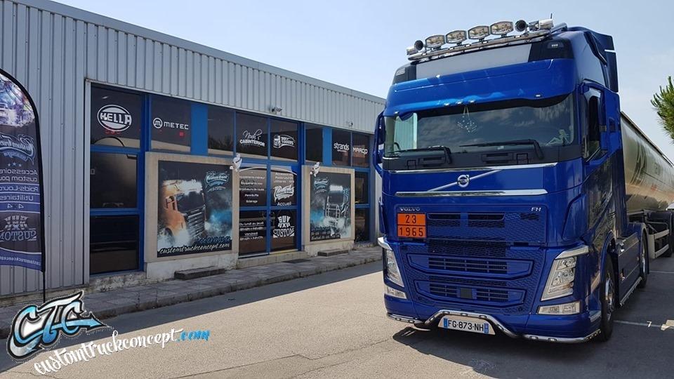 Localisation du magasin Custom Truck Concept, Accessoires et Tuning pour Camions et Poids-lourds